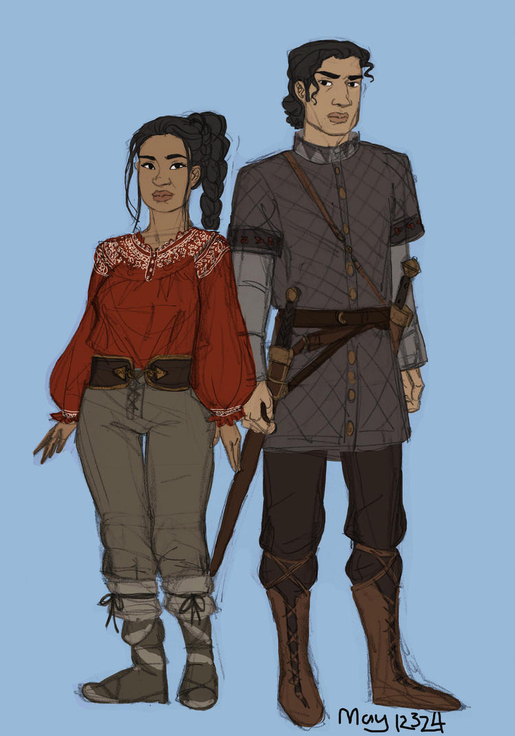 Elisa and Hector by may12324