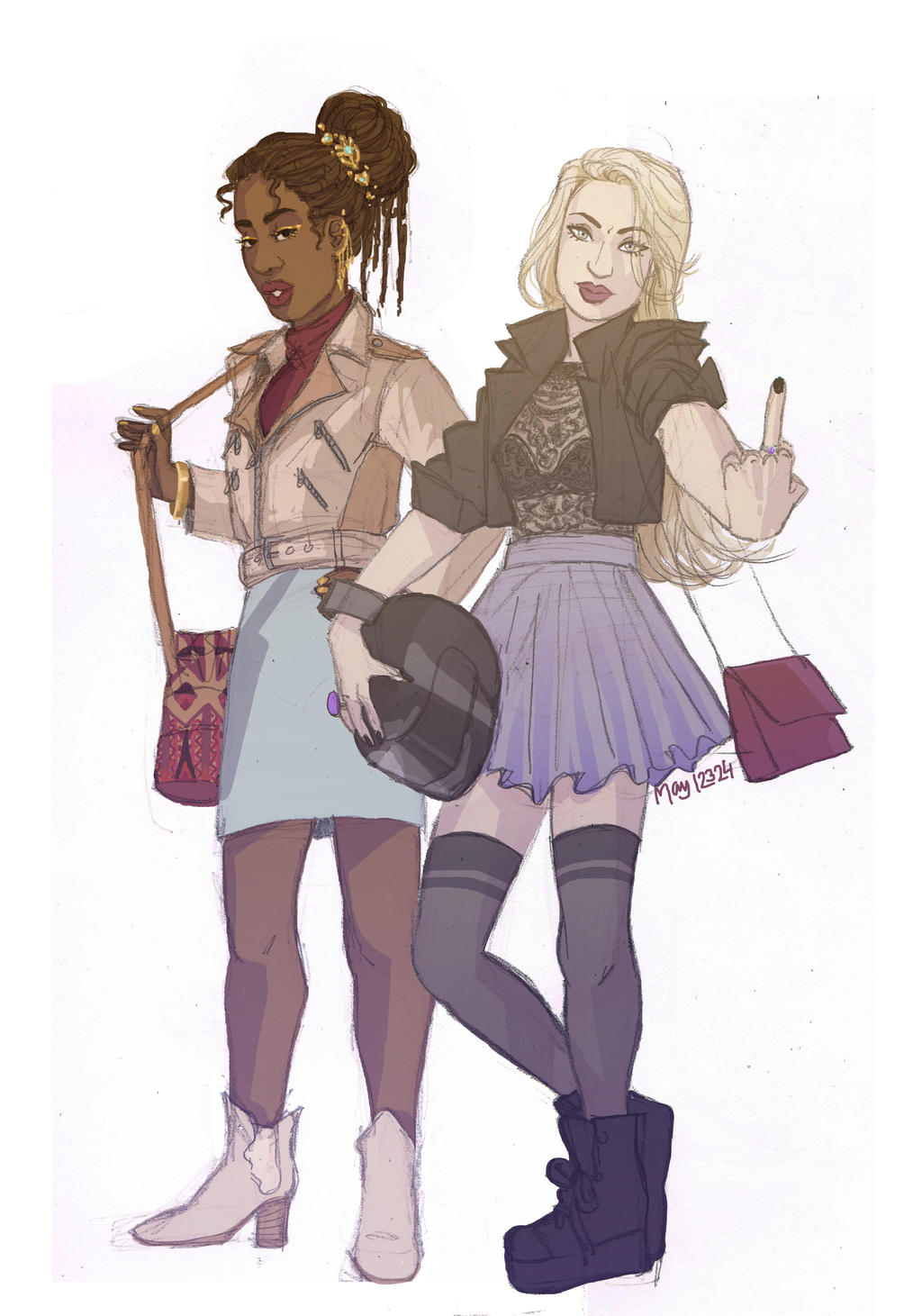 Modern Nehemia And Celaena by may12324