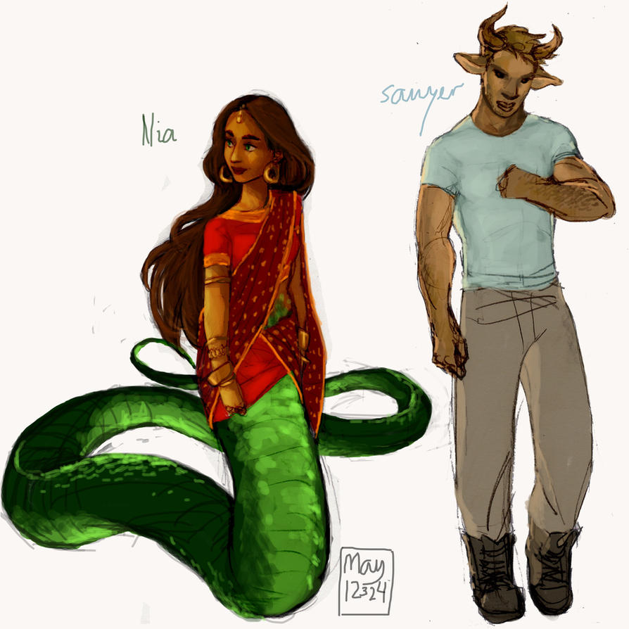 Nia and Sawyer by may12324