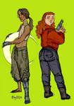 Cinder And Scarlet
