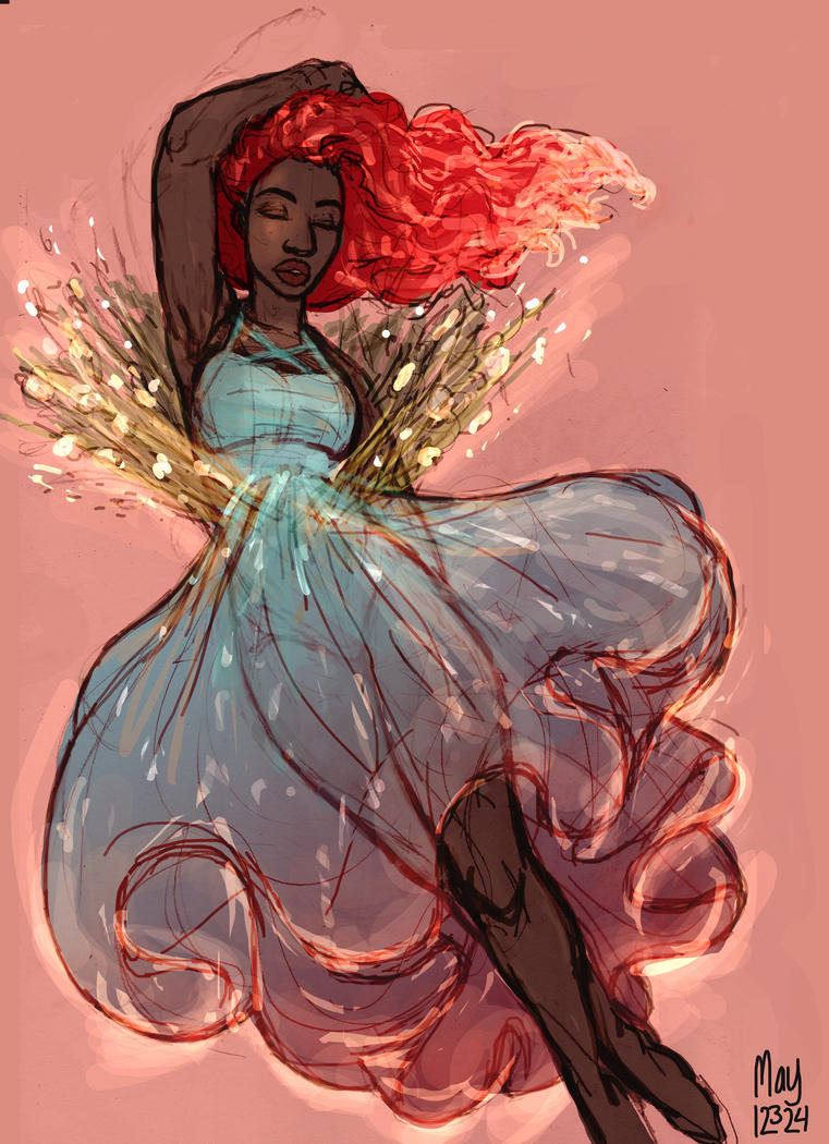Goddess Lady Fire by may12324