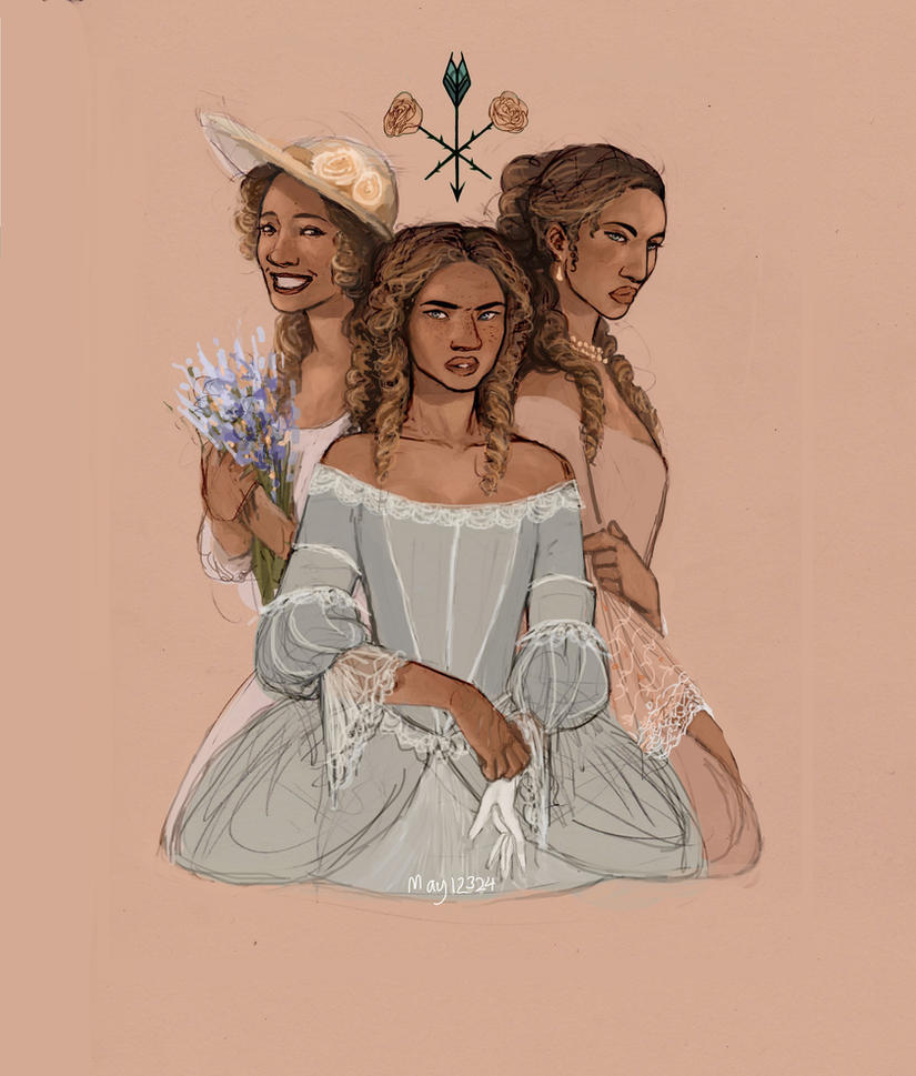 Feyre and Sisters Fair by may12324