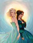 Aelin and Lysandra