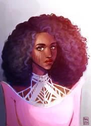 Princess Winter portrait