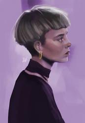 Emma - Portrait study