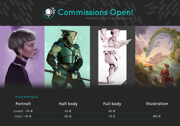 Commissions CLOSED (temporarily)