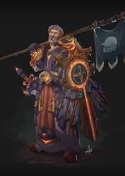 Grumpy Warrior - Commission