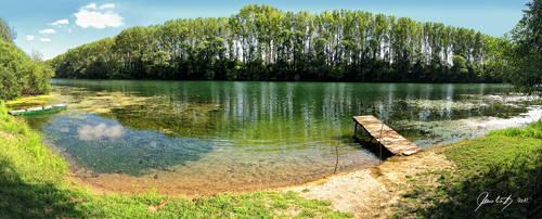 Kupa river by hrcM