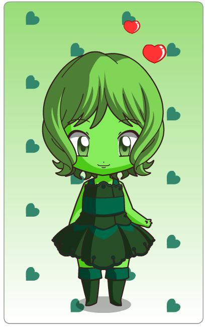 Chibi Jade by SpirittheHedgehog333