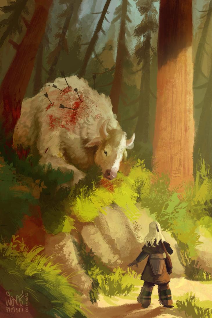 White Buffalo by Pimsri
