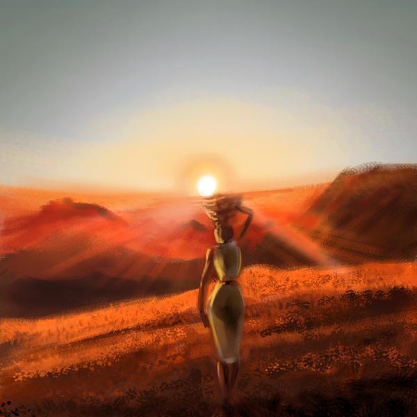 Sunset by Substantia-Nigra