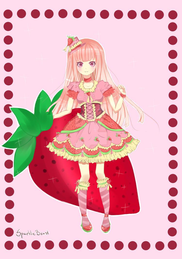 StrawBerry Lolita by SparkleBeast