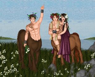 Fantasy Love Triangle by tropicallili