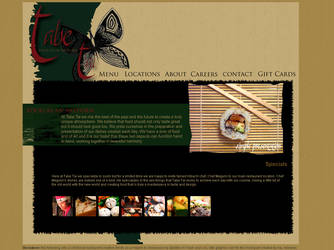 Fictional Restaurant Site 01 by tropicallili