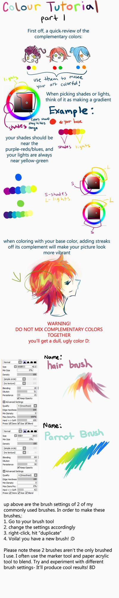 Color Tutorial Part I by friendwish