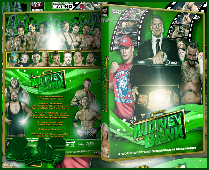 Image result for money inthe bank 2011 poster