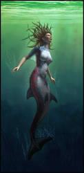 Mermaid by kittomer