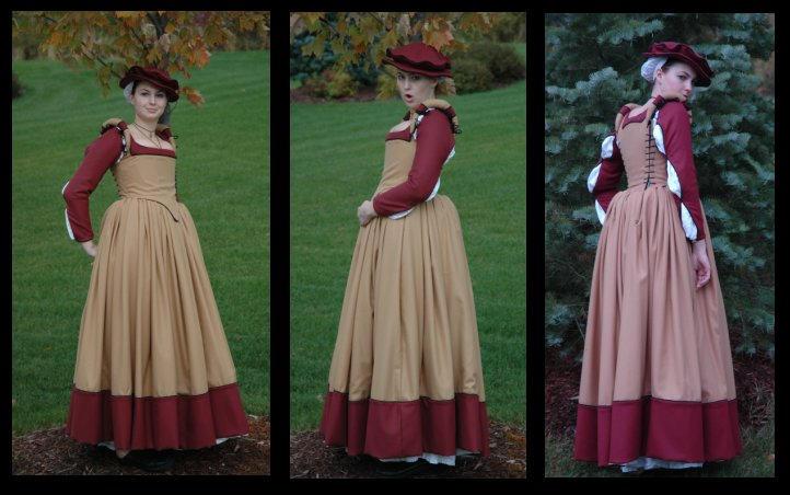 Elizabethan Middle Class Gown by immortalphoenix