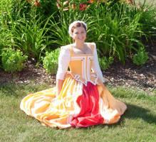 Creamsicle Dress by immortalphoenix