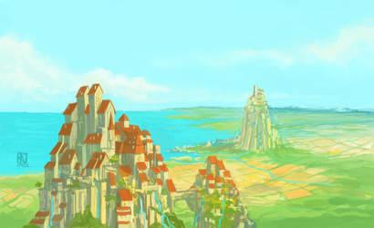 Landscape by Kwad-rat