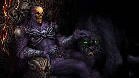 Skeletor - Under The Purple Hood by Kwad-rat