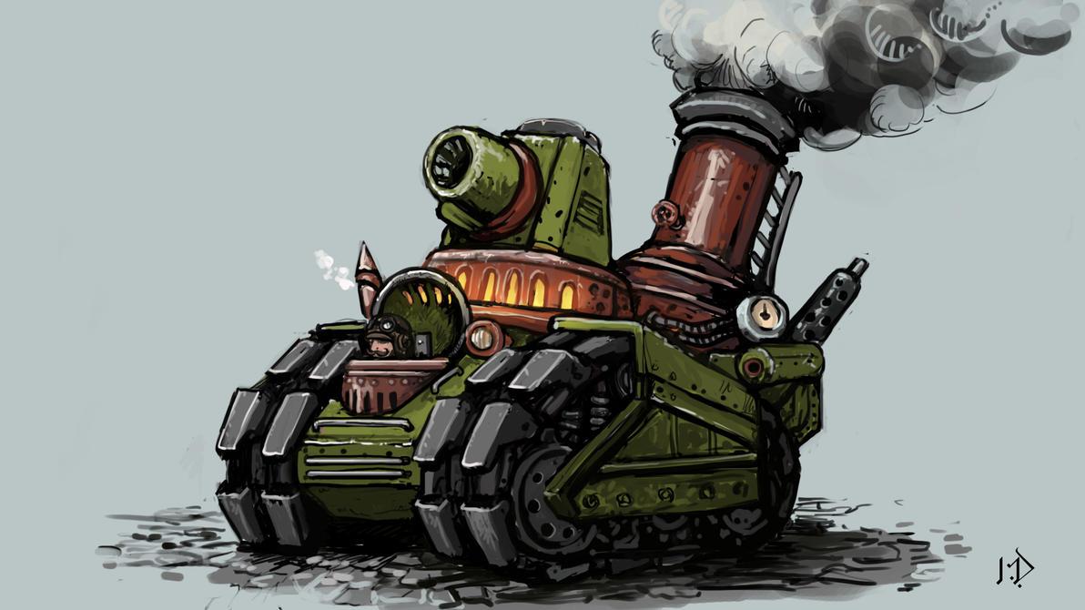 Steam Slug by Kwad-rat