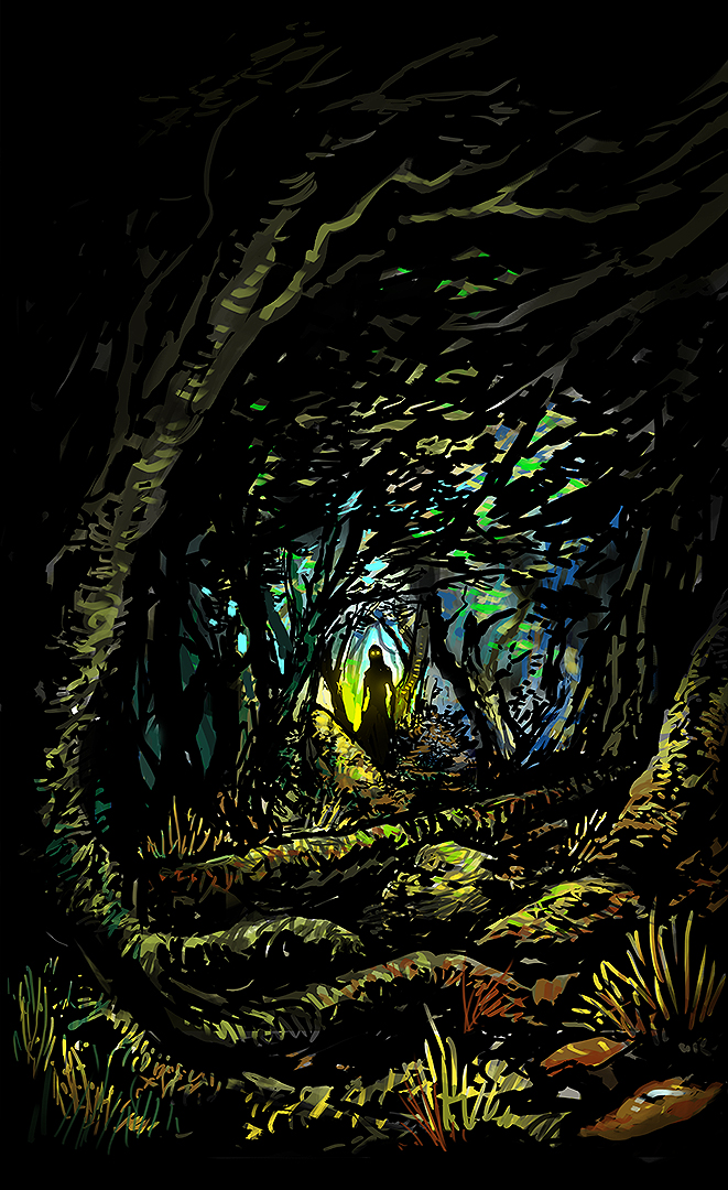 Forest Sketch by Kwad-rat