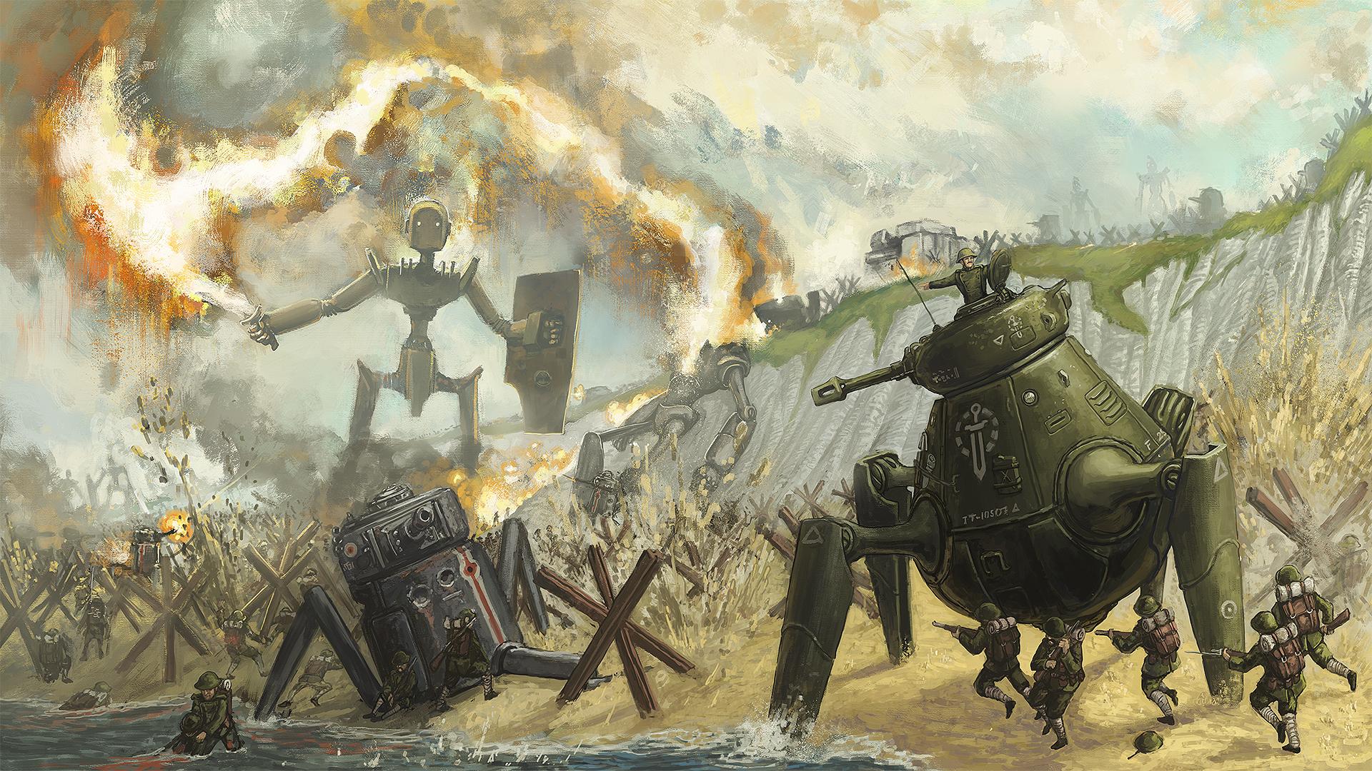 Beach Assault by Kwad-rat