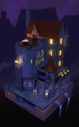 Old Steampunk Bank