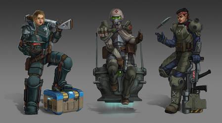 S-f Power Armor