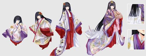 The White Chrysanthemum Princess by Hachiretsu