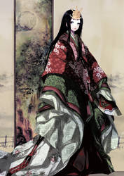 Robe of Moss by Hachiretsu