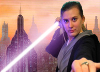 Myself as a Jedi by alicia86