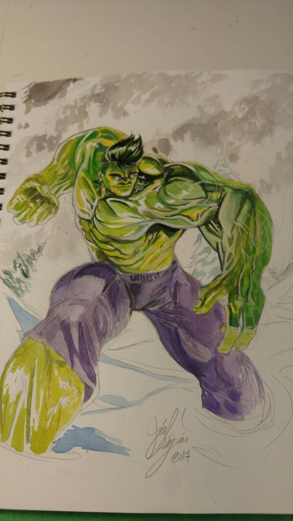 totally awesome hulk by joeljseguin