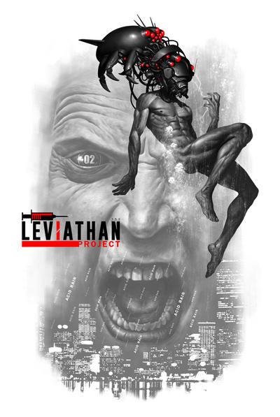 Leviathan T-Shirt by Atzinaghy