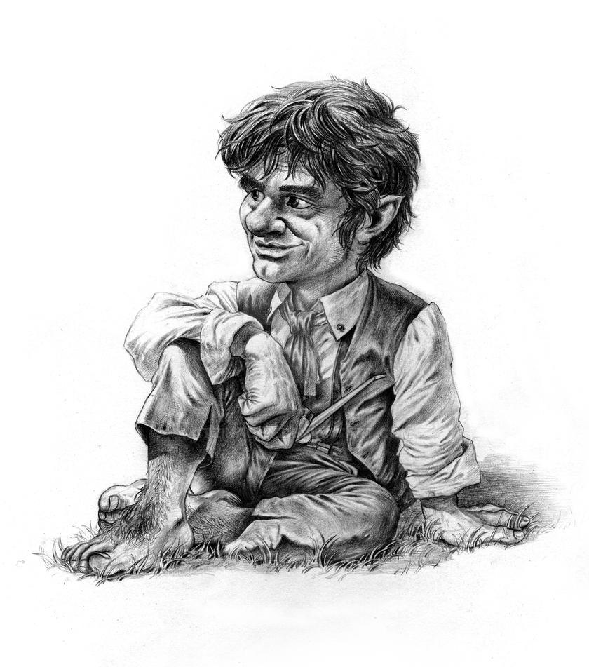 Bilbo Baggins by Atzinaghy