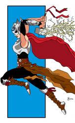 Lady Thor by Shaun2186