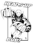Wolverine Black and White