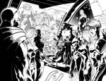 Stormchasers issue 6 pencils+inks
