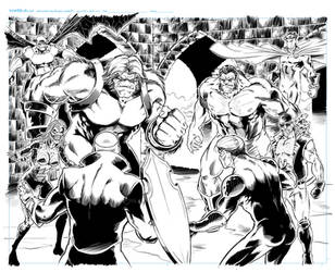 Spread from issue 7 by kre8uk