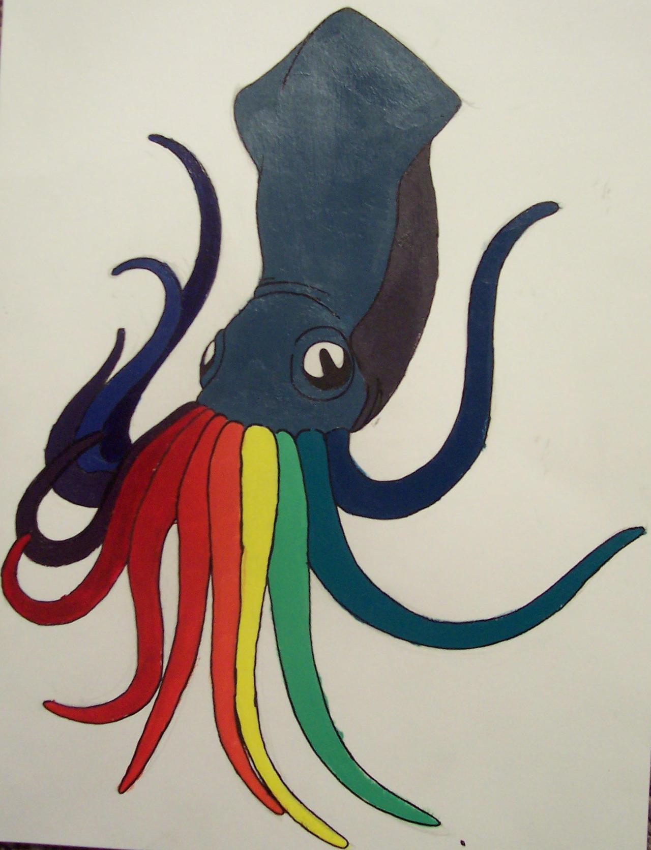 Squid Color Wheel By ShotxXxGun