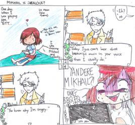 HM TOTT : Mikhail is Jealous? by AnishaAsakura333