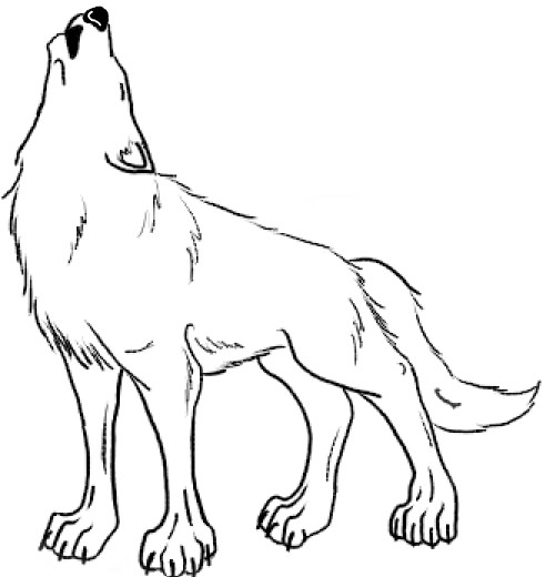 Request -- Black Wolf Lineart by xX-Mystery-Xx on DeviantArt