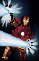 Iron Man by Stevens Colored by statman71