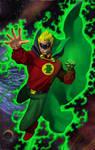 Alan Scott Green Lantern Color