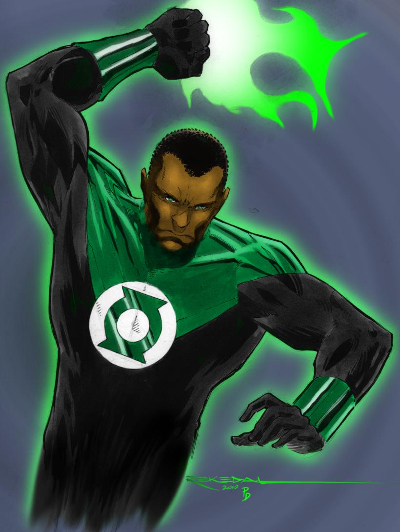 Green Lantern John Stewart by statman71