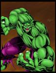 Hulk Commission by statman71