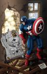Captain America in World War 2