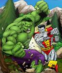 Hulk vs Colossus