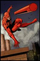 Daredevil By Night by statman71